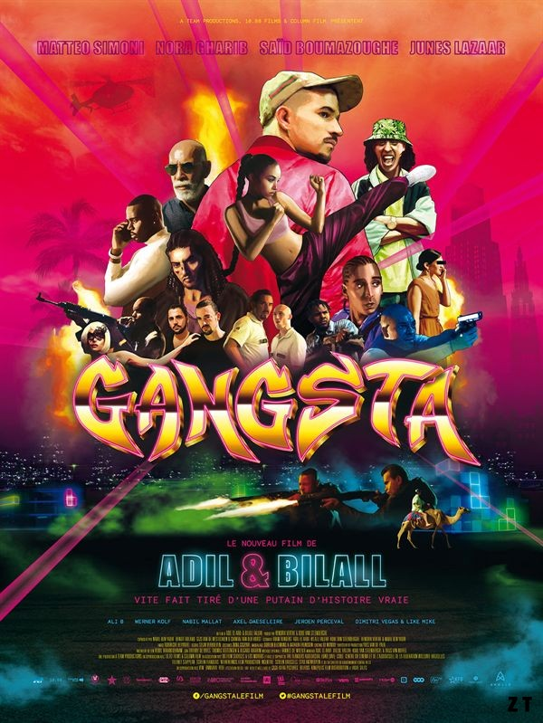 Gangsta FRENCH WEBRIP 2018