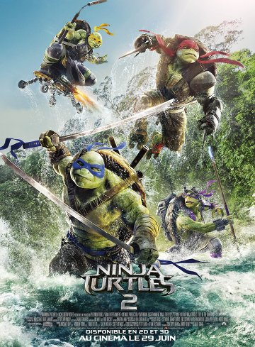 Ninja Turtles 2 FRENCH DVDRIP x264 2016
