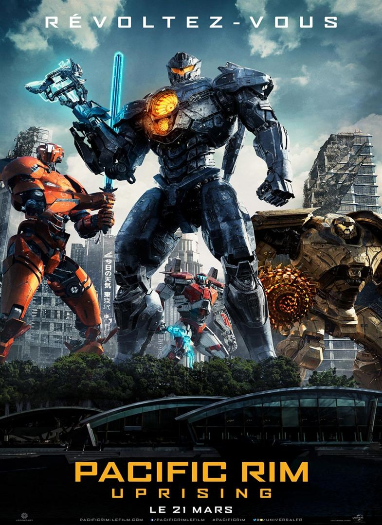 Pacific Rim 2 : Uprising FRENCH WEBRIP 720p 2018