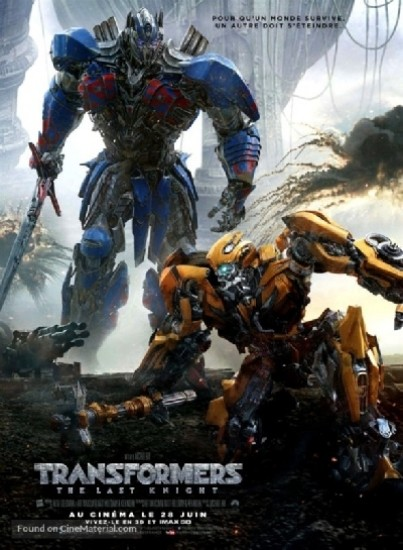 Transformers: The Last Knight TRUEFRENCH DVDRIP 2017